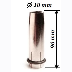 Сопло МР40KD d=18 мм конич