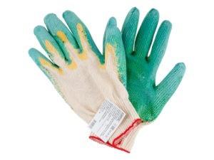Перчатки с 2-слойным латексым покрытием