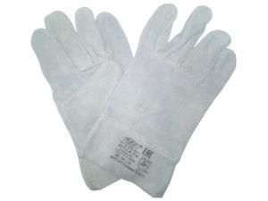 Перчатки кожаные спилковые (короткие)