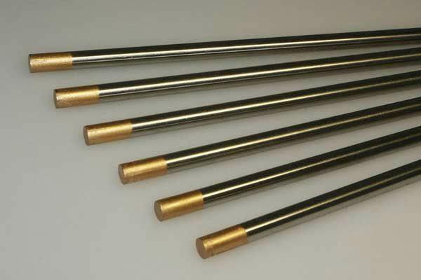 Электрод вольфрам.  WL-15  d=2,0 mm (лантан 1,5%)
