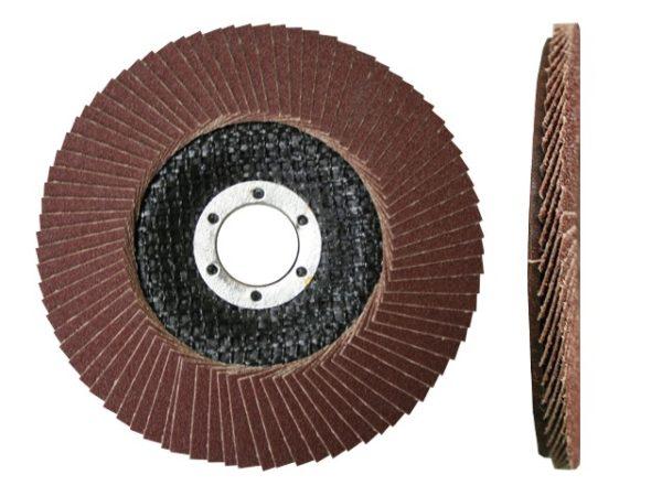 Круг лепестковый КЛТ1 125 х22мм А 80 плоск. ЛУГА