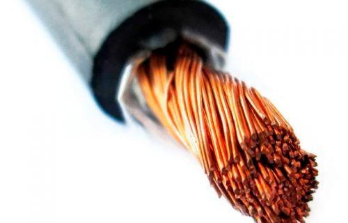 силовой кабель для сварки