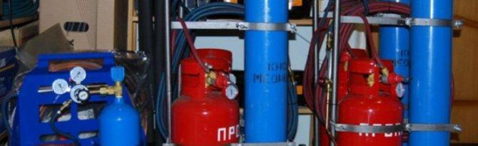 технических газов в строительной сфере